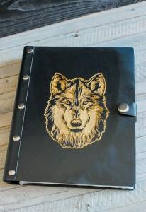 Ежедневник Из Дерева (Волк)