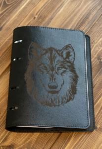 Ежедневник Из Натуральной Кожи (Волк)