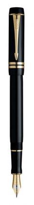 Перьевая ручка Parker Duofold Black GT