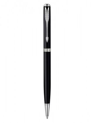 Шариковая ручка PARKER SONNET LACQUER BLACK CT